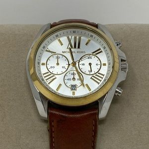 Michael Kors Boyfriend leather watch